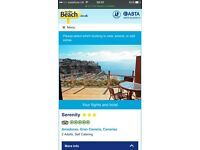 8 night Holiday and flight to gran canaria October for 2 adults