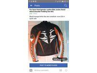 Motorbike real leather jacket