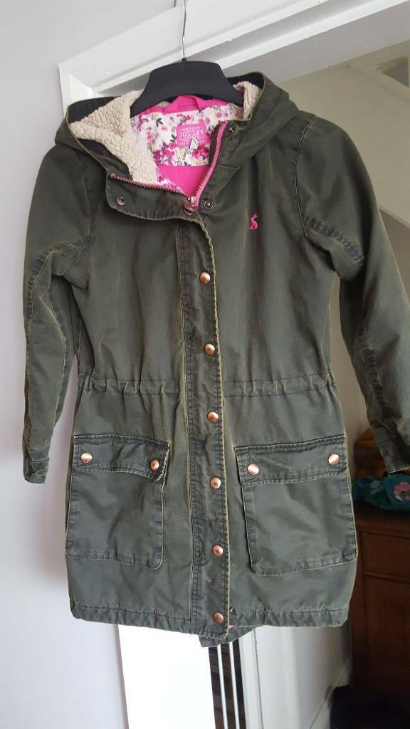 Joules winter coat age 9 to 10 years
