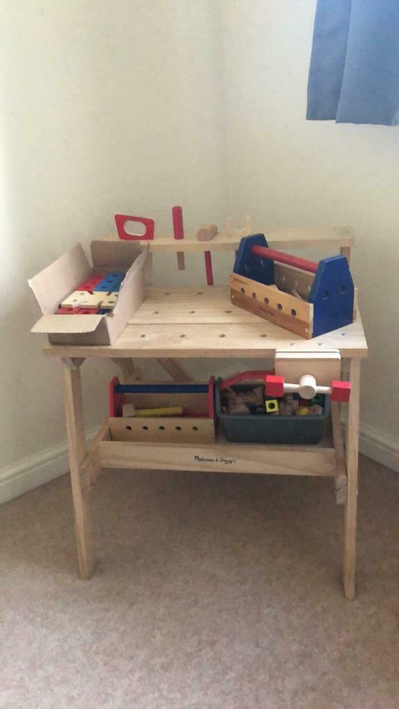 Excellent Melissa And Doug Tool Bench In Newark Nottinghamshire Gumtree Squirreltailoven Fun Painted Chair Ideas Images Squirreltailovenorg