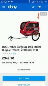 Doggyhut XLarge Dog Trailer Pet Carrier