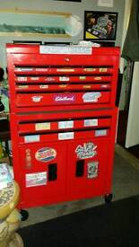 Tool chest compact size on wheels