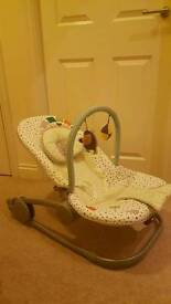 Mamas and Papas Vibrating and Sounds Bouncey Chair