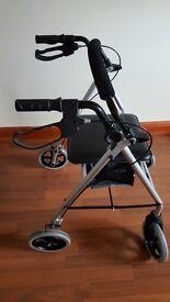 Zimmer frame lightweight rollator
