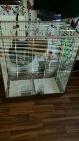 Large Budgie rat chinchilla cage