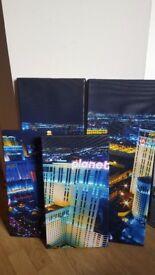Las Vegas Canvas (four parts)