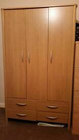 Wardrobes 2 off 3 door and a double