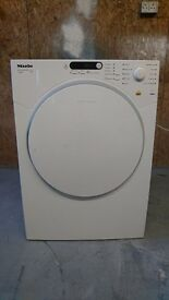 Miele T7934 7kg Freestanding Vented Tumble Dryer - White