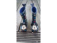 Wellies infant boots infant UK 8
