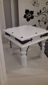 Rustic yet modern table x2