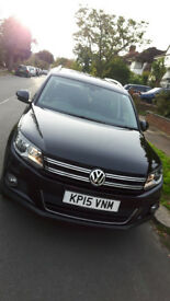 sell vw tiguan 2015 en good condition like new