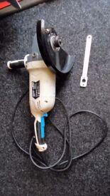 MacAllister 9 inch angle grinder