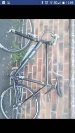 """26"""" Black racer bike"""