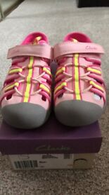 Girls Clarks shoes new