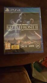Brand new ps4 star wars battlefront 2.