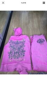 Pink Juicy couture tracksuit
