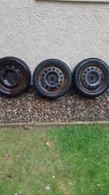 Fiesta steel wheels