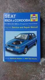 Seat Ibiza and Cordoba Haynes Manual