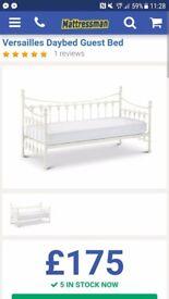 Paris day bed brand new no mattress