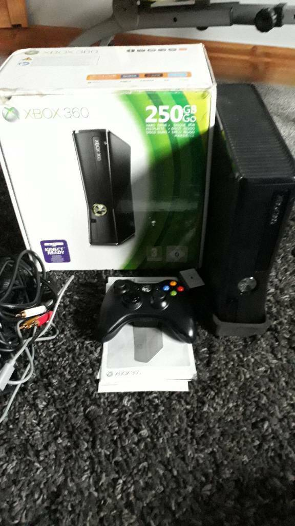 Xbox 360 250GB Kinect ready console