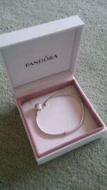 Genuine Pandora bracelet boxed - unwanted gift £30