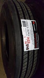 11R22.5 New Recap Aelous Trailer Tires,16 PLY, SALE!!!