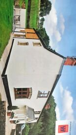 Beautiful detached house to rent + barn