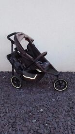 Phil & Teds Dash DOUBLE buggy with lots of extras