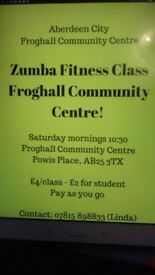 Zumba Classes at Froghall Community Centre