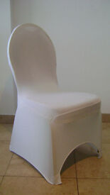 100 Brand new white spandex chair covers