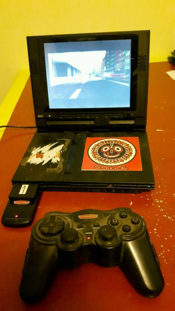 Sony Playstation 2 (PS2) Slim Console and screen complete