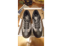 Arco steel toecap safety trainers size 8