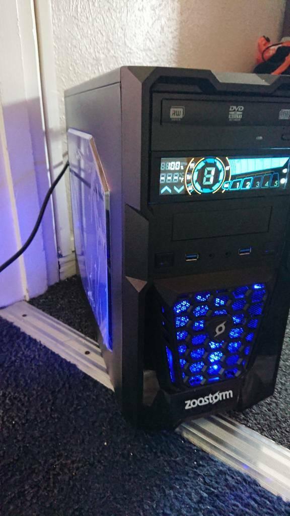 Custom Zoostorm Gaming PC (i7 4790k | 16GB | 240GB | R9 270x 4GB | Windows  10) | in Christchurch, Dorset | Gumtree