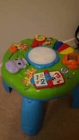 Leap frog table toy