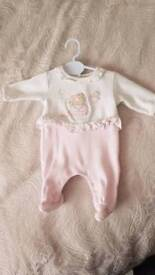 Mayoral newborn suit