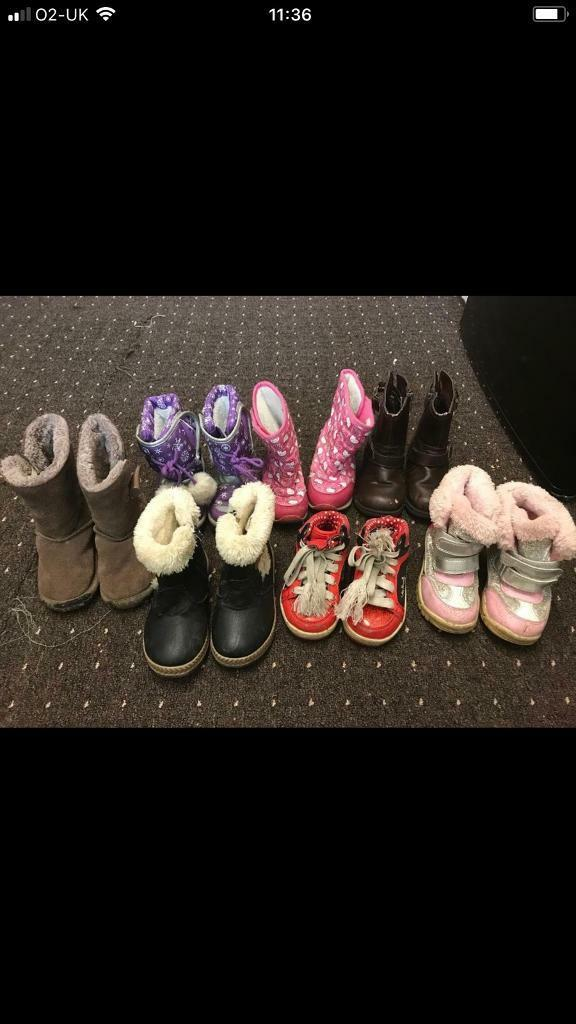 39c03337ba88 Girls shoes boots ads buy   sell used - find great prices