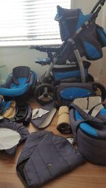 The Baby Pram Stroller+Car seat,CarrycotThe Baby Pram Stroller+Car seat,CarrycotThe Baby Pram Stroll