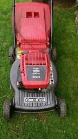 Mountfield petrol self drive lawnmower