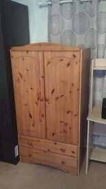 Tanned wooden cupboard