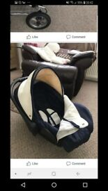 Pram with car seat for sale £50
