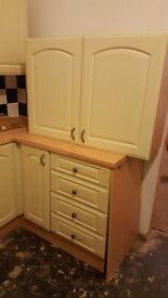 Free kitchen units and worktops