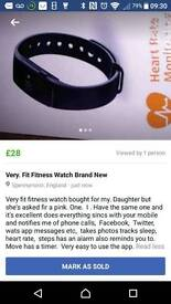 Very fit fitness watch brand new