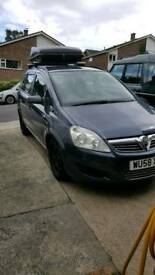 Vauxhall zafira exclusive