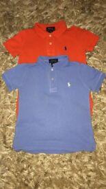 2 X Ralph Lauren t shirts
