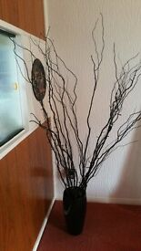 twigs and vase