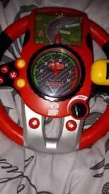 Disney cars racing wheel