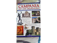 Book Travel Southern Italy with large map new