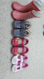 Collection of girls shoes size 4, 4 1/2, 5 and 5 1/2
