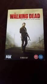 Walking dead season 5 dvd box set