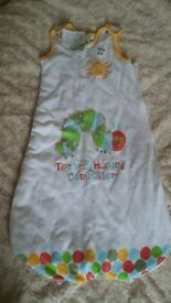 BNWT Grobag sleeping bag baby bedding hungry caterpillar 2.5tog